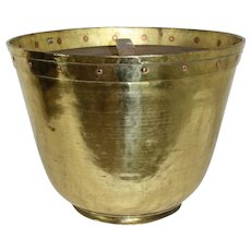 Brass Candy Pot