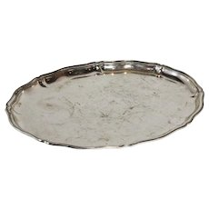 Silver Plated Serving Platter