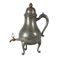 Pewter Tea Dispenser