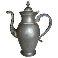 Flemish Pewter Teapot