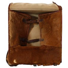 Cowhide Swiss Army Tornister c. 1940