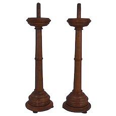 Elm Candlesticks Set/2
