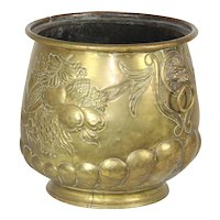 Pressed Brass Pot