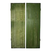 Pair of Folding Shutters