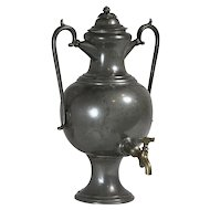Pewter Beverage Dispenser