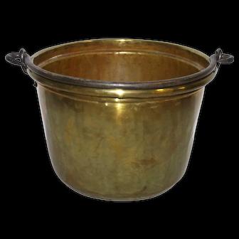 Dutch Brass Bucket/Pail