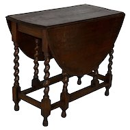 Oval Gate Leg Table