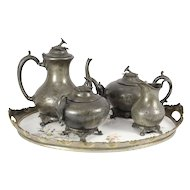 Pewter Tea Set