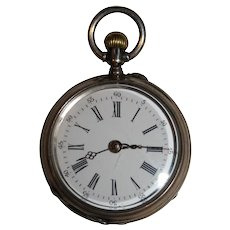 Swiss Remontoir Silver Pocket Watch