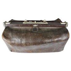 Leather Doctor's Medical Bag