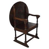 Oak Table/Chair