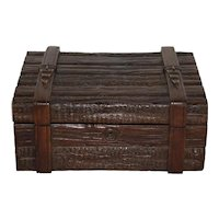 Swiss Black Forest Carved Box