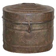 Metal Bucket with Lid