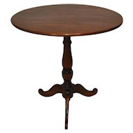 Round Wine Table