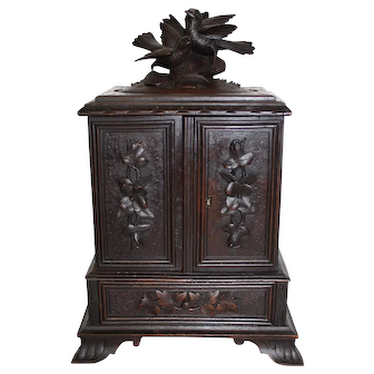 Carved Cigar Box