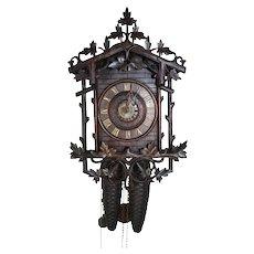 Carved Clock