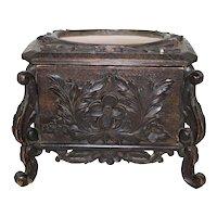 Carved Hunt Box