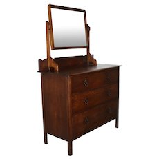 English Dresser with Mirror
