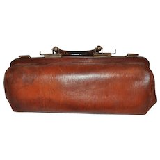 Leather Doctor's Medical Bag
