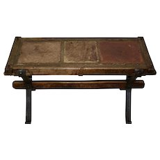 Coffee Table with Spanish Tiles