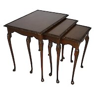 Nesting Tables, Set of Three