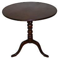 Mahogany Tilt-Top Table