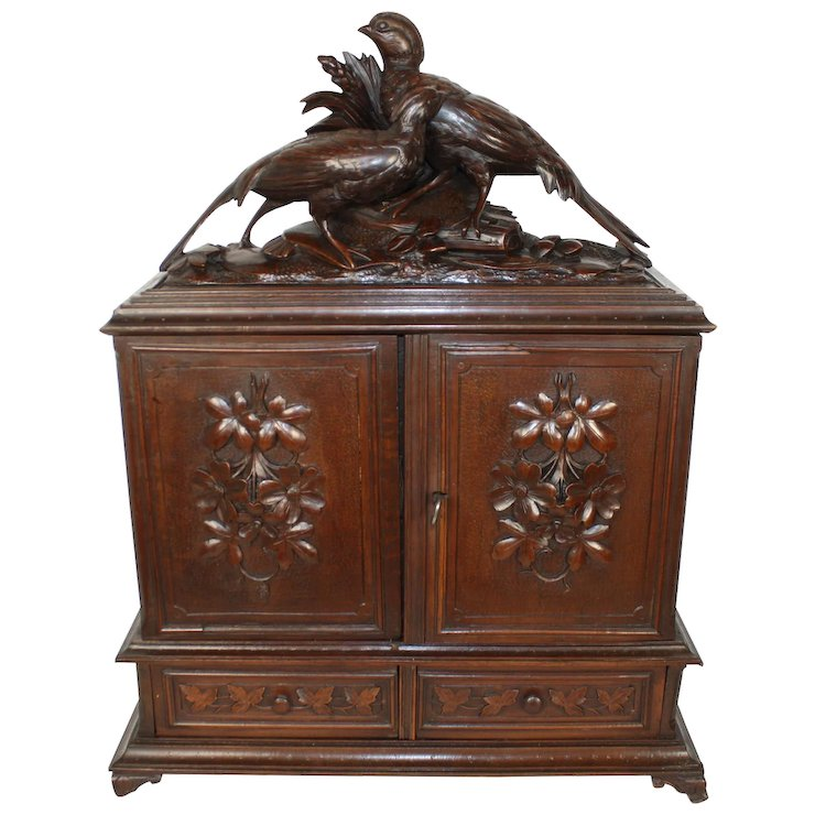 Cigar Cabinet - Cigar Cabinet : Ski Country Antiques & Home Ruby Lane