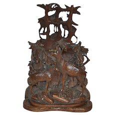 Black Forest Bookends