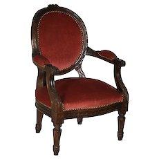 Louis XV Fauteuil Child's Armchair