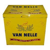 Dutch Van Nelle Tin Shop Box