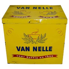 Dutch Van Nelle Tin Shop Box
