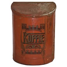 Red Koffie Tin