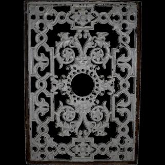 White Iron Panel
