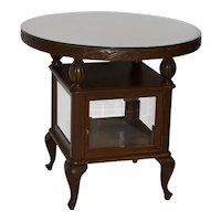 Tea Cabinet End Table