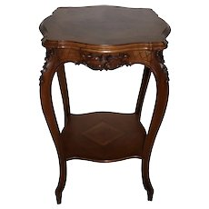 Louis XV Square Side Table