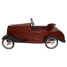 Child's Metal Pedal Car