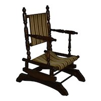 Child's Platform Spring Base Rocking Chair