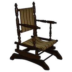 Child's Platform Spring Base Rocking Chair