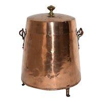 Copper Coal Kettle