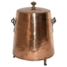 Copper Coal Kettle