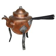 Swedish Copper Coffee Pot