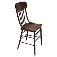 Arrow Back Chair