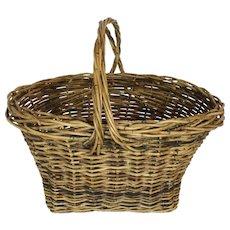 Wicker Market Basket