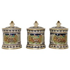 German Canister Set of Three