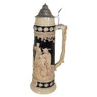 Large German Beer Stein