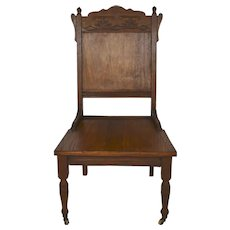 Oak Low Parlor Chair