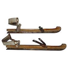 Dutch Wooden Ice Skates