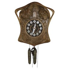 Carved Cuckoo Clock