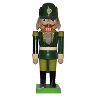 German Wooden Forest Ranger Nutcracker