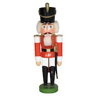 German Wooden Nutcracker Guard